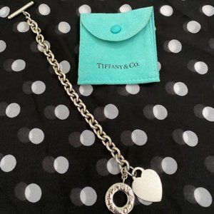 Return to Tiffany Heart Tag Toggle Bracelet